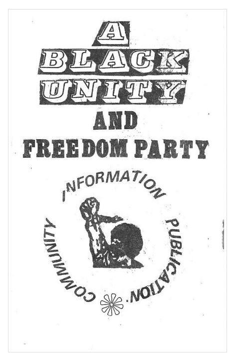 BUFP publication.